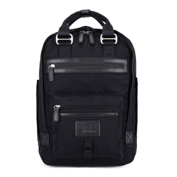 Wimbledon Backpack - Black with Black