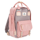 Camden Backpack Pink & Grey
