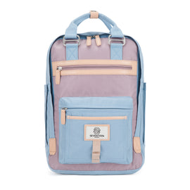 Wimbledon Backpack - Light Blue with Lilac