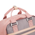 Wimbledon Backpack - Pink with Grey