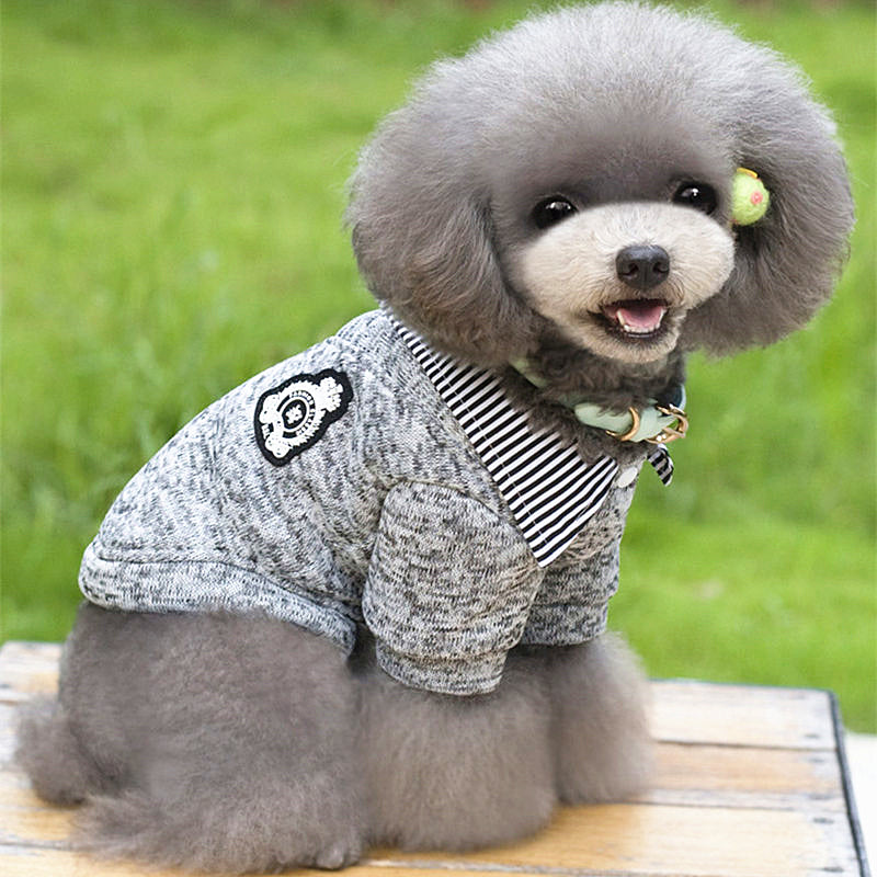utterly stylish amazing price best supplier Winter Warm Dog Coat Dog Clothes for Small Dogs Jackets Soft Dog Sweater  Yorkies Winter Chihuahua Clothes Pet Shirt 11AY40S1