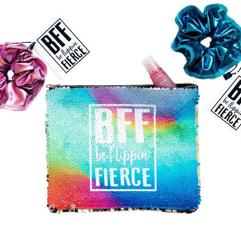 BFF Sequin Accessory Bag