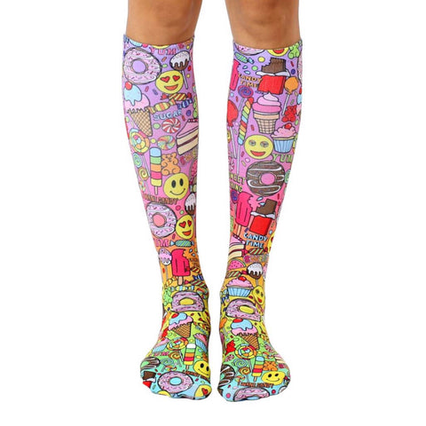 I Want Candy Knee High Socks