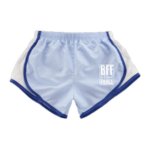 Athletic BFF Logo Shorts - Carolina Blue