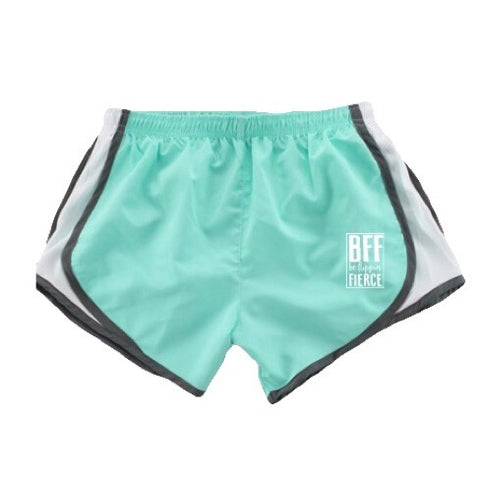 Athletic BFF Logo Shorts - Mint