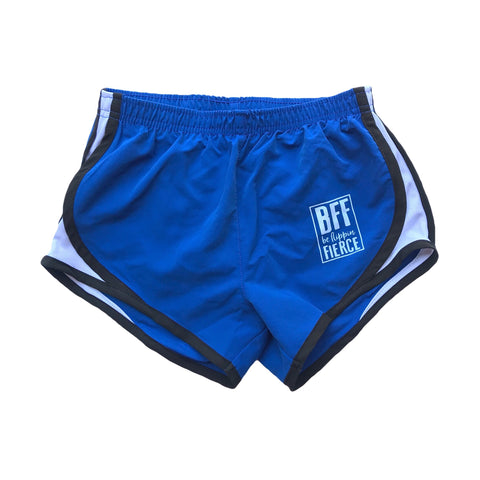 Athletic BFF Logo Shorts - Royal Blue