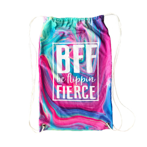BFF Logo Cinch Sack