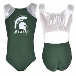 Michigan State Leotard