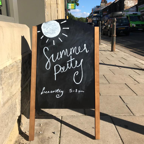 SUMMER PARTY SIGN
