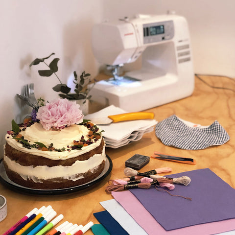 cake and craft party