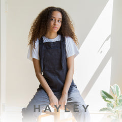 hayley dungarees recommended fabrics