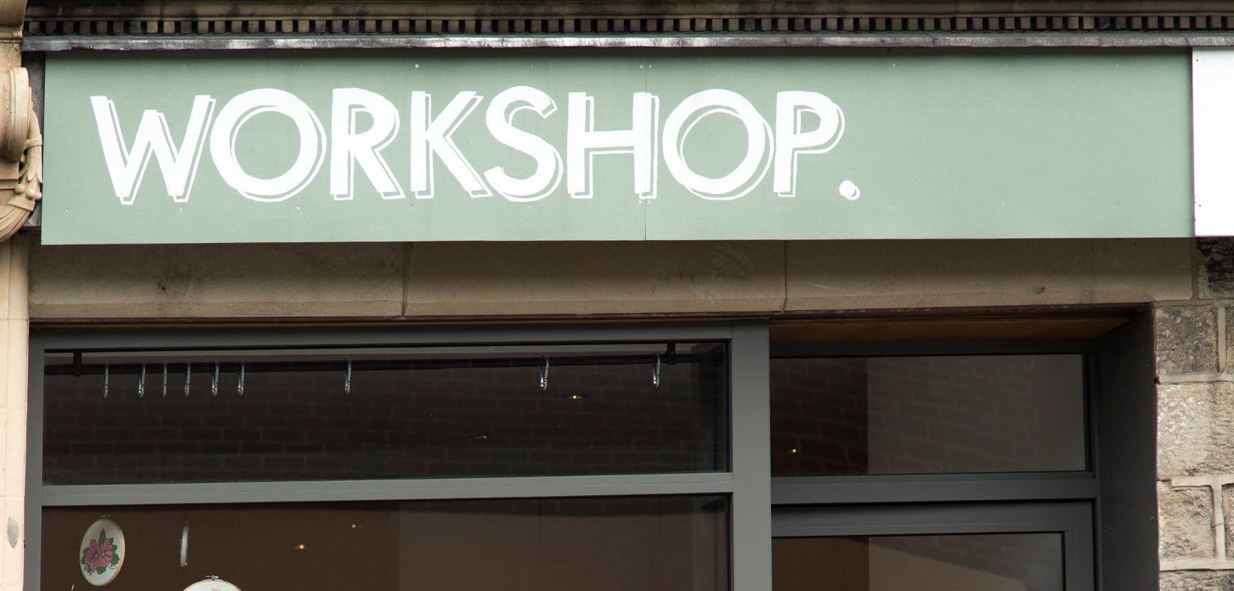 Workshop Shop Front in Leeds
