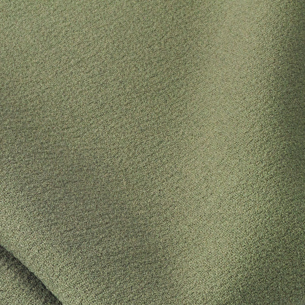 Olive Textured Crepe