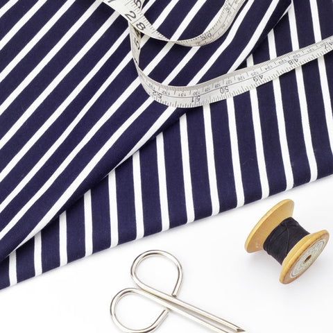 Navy and White Stripe Jersey