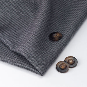 Grey Checked Cotton