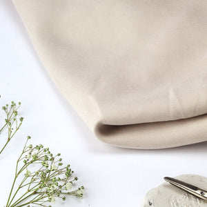Cream Twill Cotton Viscose