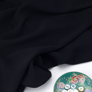 Black Polyester Fabric