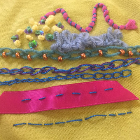 Children's Learn to Stitch Class with Jessica Grady