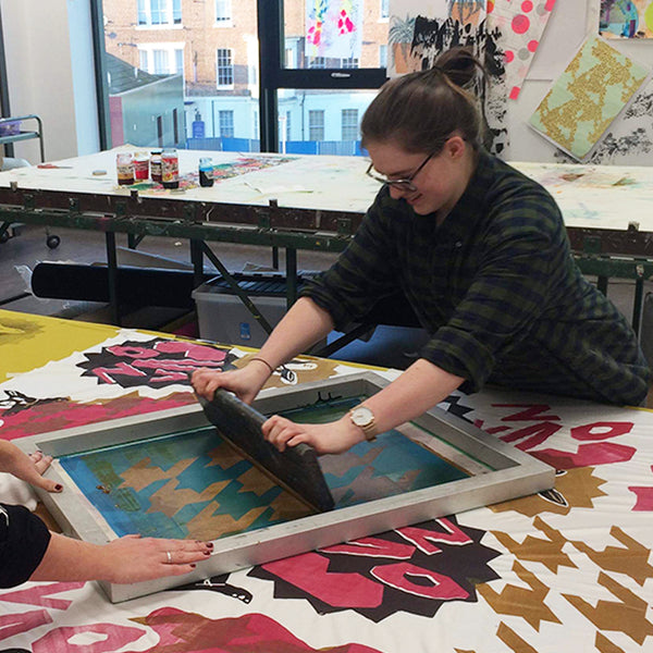 Improvers Screen Printing Workshop - Print your own Fat Quarter with Chloe Slater