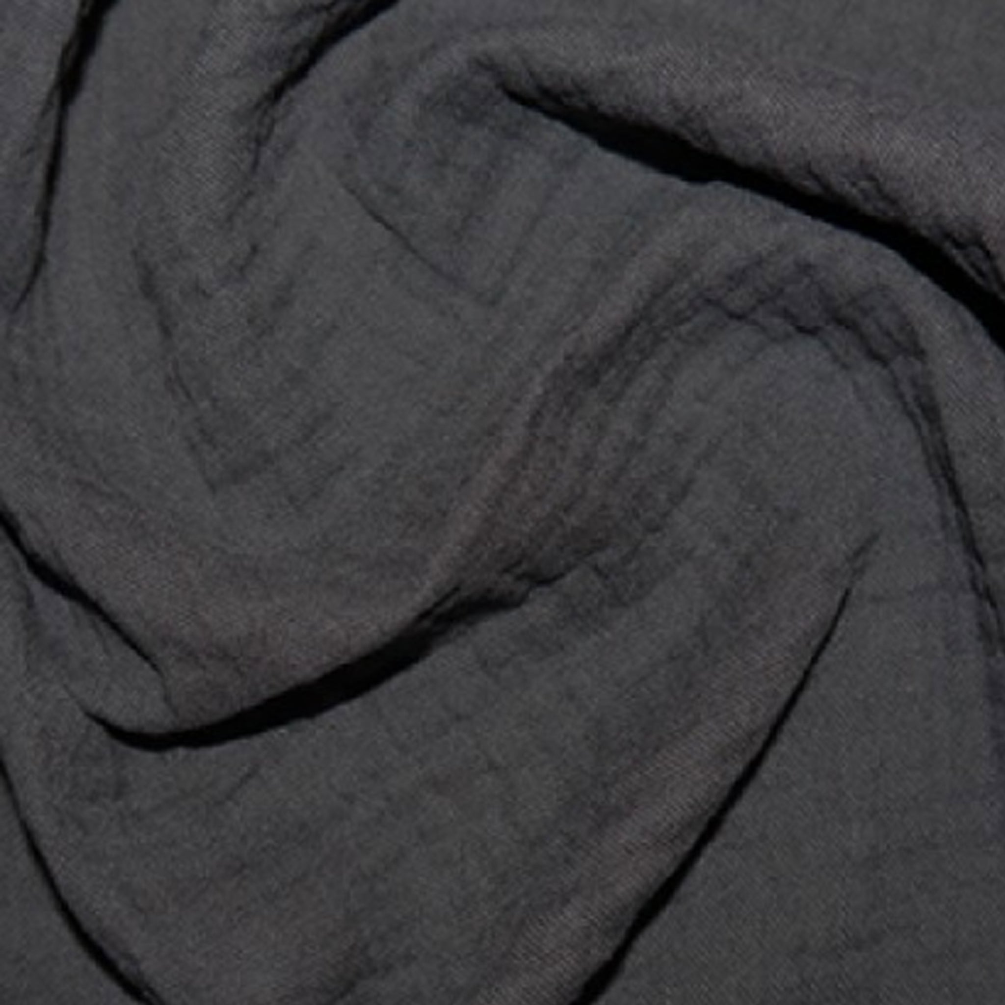 Charcoal Cotton Double Gauze