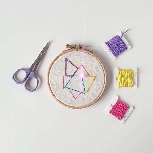 Illuminated Embroidery Online Workshop with Hayley Mills-Styles