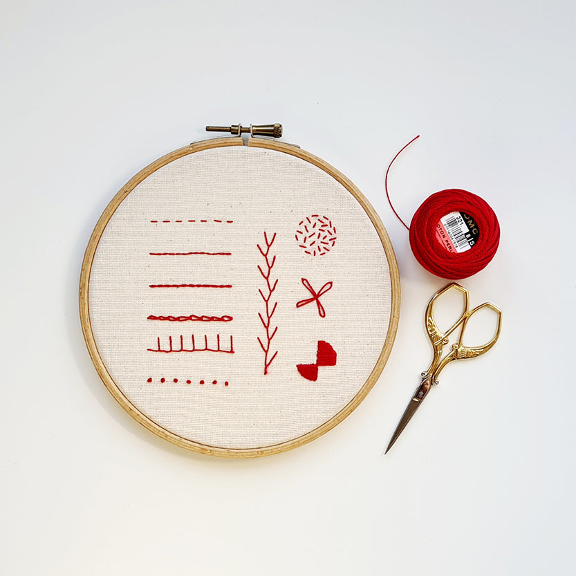 Introduction to Hand Embroidery Online Instant Access Workshop with Hayley Mills-Styles