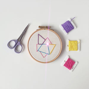 Conductive Thread Embroidery Workshop with Hayley Mills-Styles
