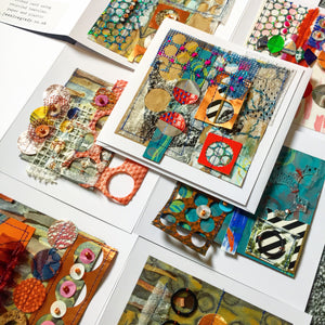 Stitched Collage Cards Online Workshop with Jessica Grady