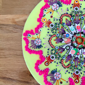 Mini Embellished Mandalas Online Workshop with Jessica Grady