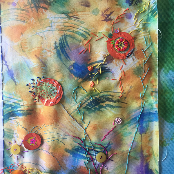 Introduction to Doodle Cloths Printed & Stitched Fabrics Online Workshop with Jessica Grady