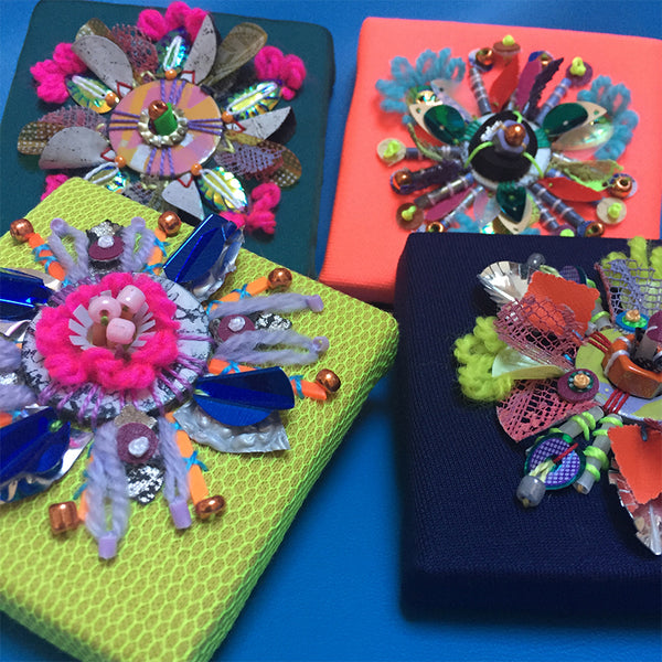 Fantasy Floral Embellishments Online Workshop with Jessica Grady