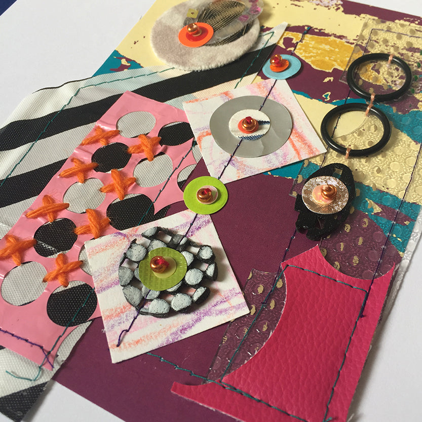 Mixed Media and Paper Collages Online Workshop with Jessica Grady