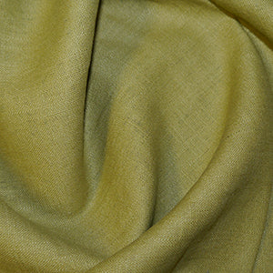 Olive Woven Linen Fabric