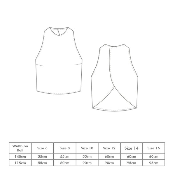 Peggy Top PDF Pattern