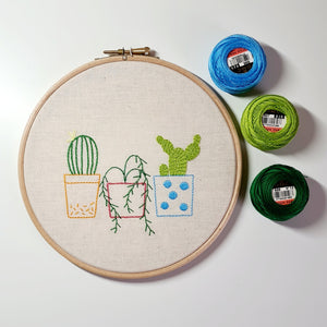Stitched Succulents Online Workshop with Hayley Mills-Styles