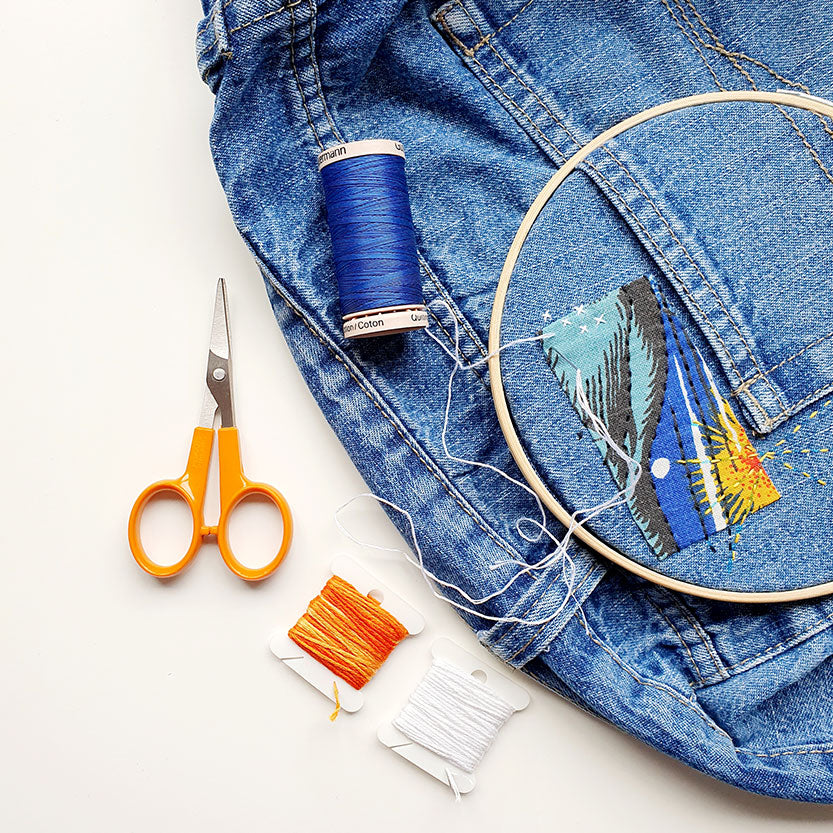 Visible Mending Online Workshop with Hayley Mills-Styles