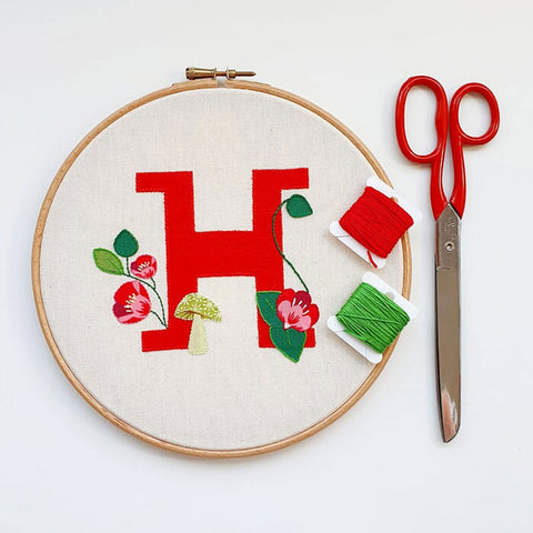 Applique and Embroidery Online Workshop with Hayley Mills-Styles