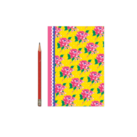 Pink Floral Notebook