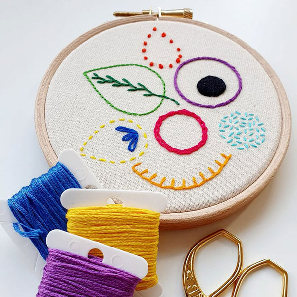 Hand Embroidery Workshop with Hayley Mills-Styles