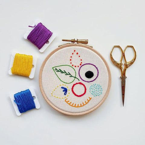 Introduction to Hand Embroidery Online Workshop with Hayley Mills-Styles