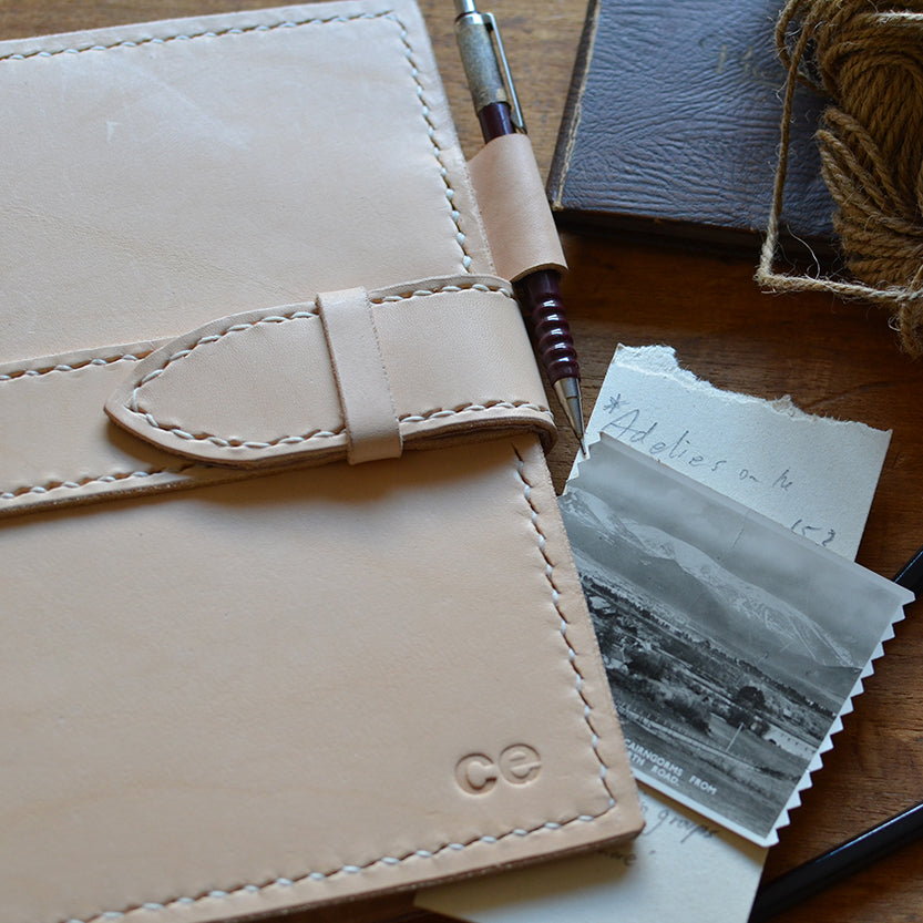 Make a Leather Journal with Catherine Edwards