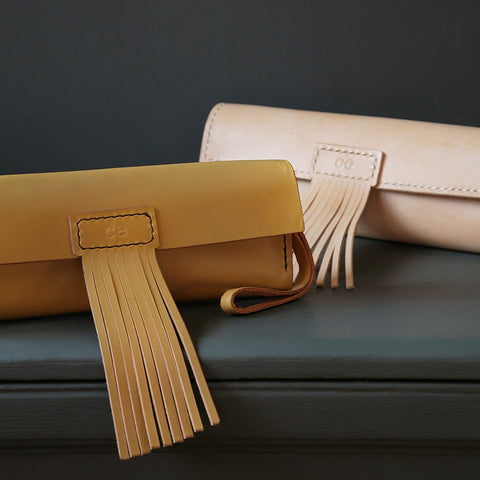 Make a Leather Clutch Bag with Catherine Edwards