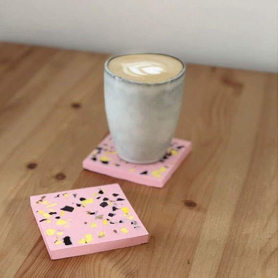 Make Your Own Terrazzo Coasters Workshop