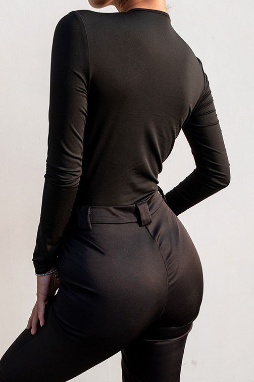 Sexy V body suit
