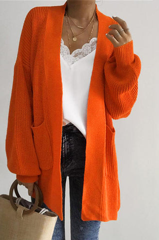 Collegiate Long Line cardigan-Clearance!