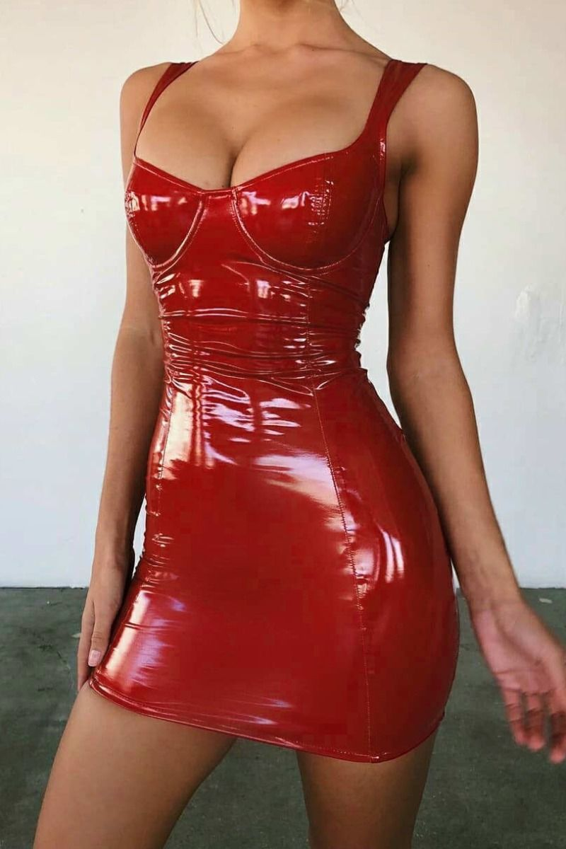 Bustier Lipstick dress