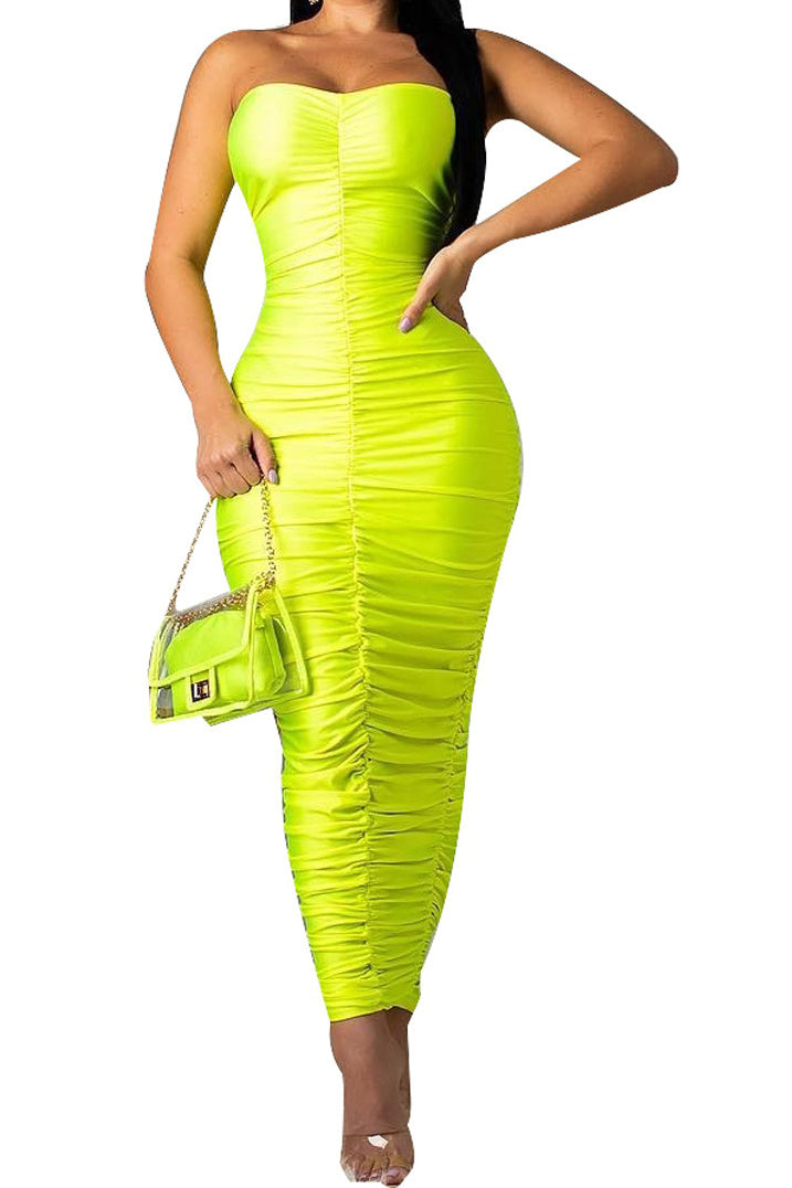Mermaid maxi dress -More colors!