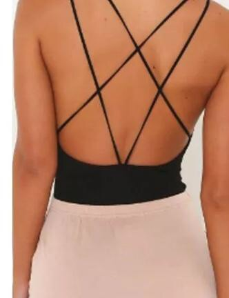 Old criss cross body suit-clearance!