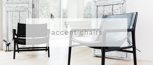 . lounge + accent chairs
