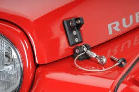 Jeep Hood Latch
